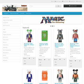 Mtgcity.com - Magic the Gathering, Yu-Gi-Oh!, and Bearbrick collectibles.