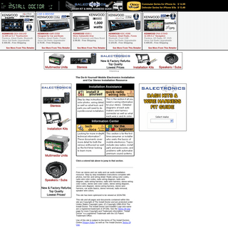 ArchiveBay.com - installdr.com - The Install Doctor - The Do-It-Yourself Car Stereo Installation Resource