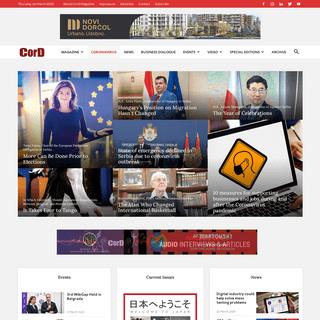 CorD - Business, Politics, Economics, Finance, Diplomacy & Society