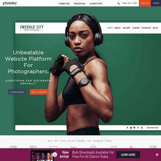 Website Builder & Business Tools for Photographers - PhotoBiz