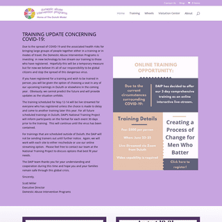 Home Page - Domestic Abuse Intervention Programs