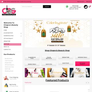 Chapra Beauty Shop – Welcome to Chapra Beauty Shop