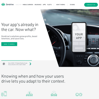 Driving the future of transportation safety - Zendrive