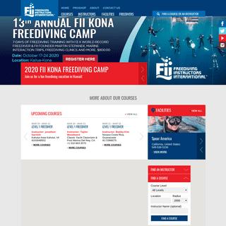 FII Freediving Courses - Freediving Instructors International