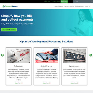 ArchiveBay.com - paymentvision.com - Leading Payment Processing Solutions Company - PaymentVision