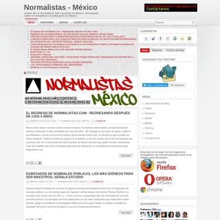 Normalistas - México