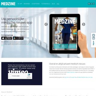 Welkom - MedZine App