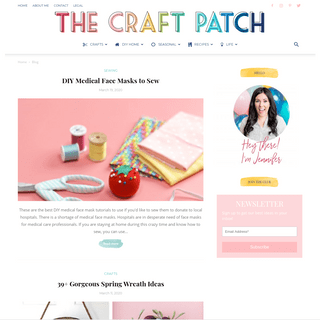 The Craft Patch - Crafts, Home Decor, DIY's and Recipes