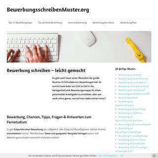 ▷ Bewerbungsschreiben Muster+Bewerbungsvorlagen für Bewerbung