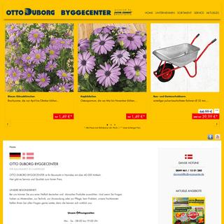 Otto Duborg Byggecenter- Home