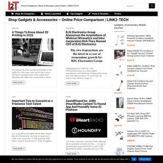 Price Comparison, News & Reviews, Latest Deals - LINK2-TECH