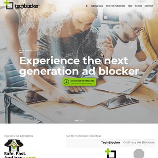 TechBlocker - The world's most effective ad blocker