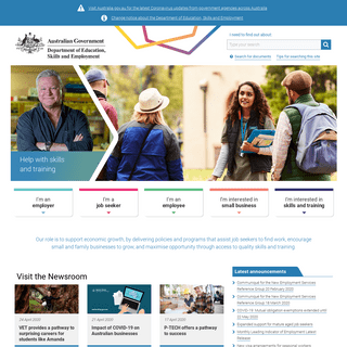 ArchiveBay.com - employment.gov.au - Department of Education, Skills and Employment -