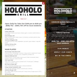 Holoholo Grill - Celebrating life's pleasures