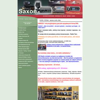 CB Radio Saxon - naprawa cb radio Warszawa, serwis, komis, sklep