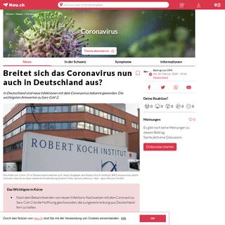 Breitet sich das Coronavirus nun auch in Deutschland aus-