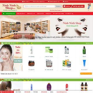 Mỹ phẩm chính hãng bán buôn bán lẻ uy tín giá tốt nhất Việt Nam