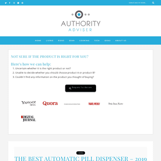 Authority Adviser - Researching The Best Possible Product Online