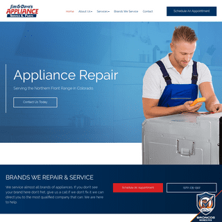 The Best Appliance Repair Service In Northern Colorado - Jim & Dave's Appliance