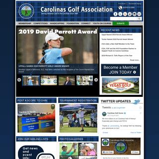 Carolinas Golf Association - Carolinasgolf.org