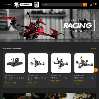 FPV Freestyle and Drone Racing Shop - Rotor Riot Store