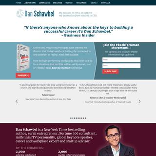 Future of Work Expert, Keynote Speaker, NY Times Bestselling Author – Dan Schawbel — Future of Work Expert, Keynote Speaker,