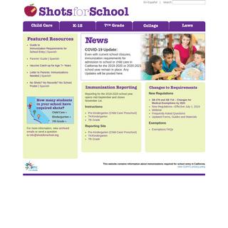ShotsForSchool.org