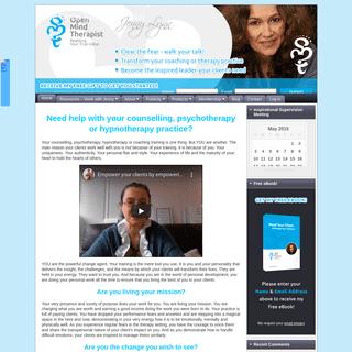 Integrative therapist - Inspirational Supervision & Development - The Open Mind Therapist
