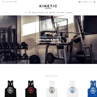 키네틱피플 - KINETIC PEOPLE