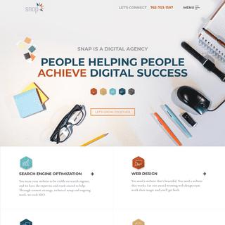 Digital Marketing Agency - Snap Agency