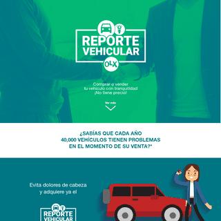 Reporte Vehicular OLX