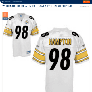 ArchiveBay.com - steelersdiscountshop.com - Wholesale High Quality Steelers Jerseys for Free Shipping