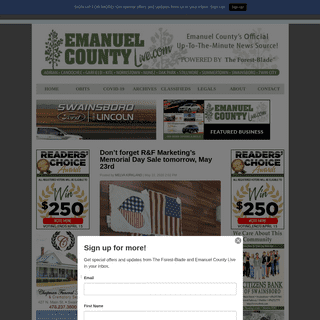 Emanuel County Live - Your source for Emanuel County News