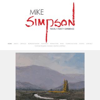 Mike Simpson Fine Art