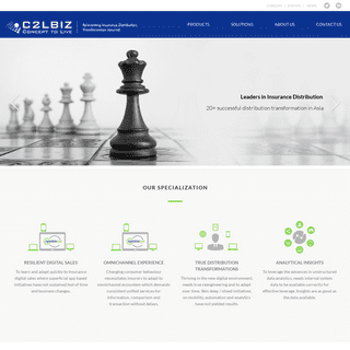 C2L Biz – Digital Insurance Software Solutions and Services