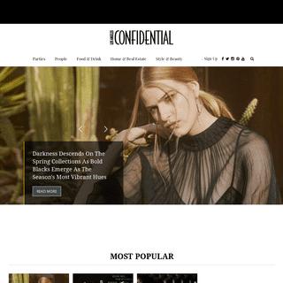 LA Confidential Magazine - Events, Style, Fine Dining & Culture