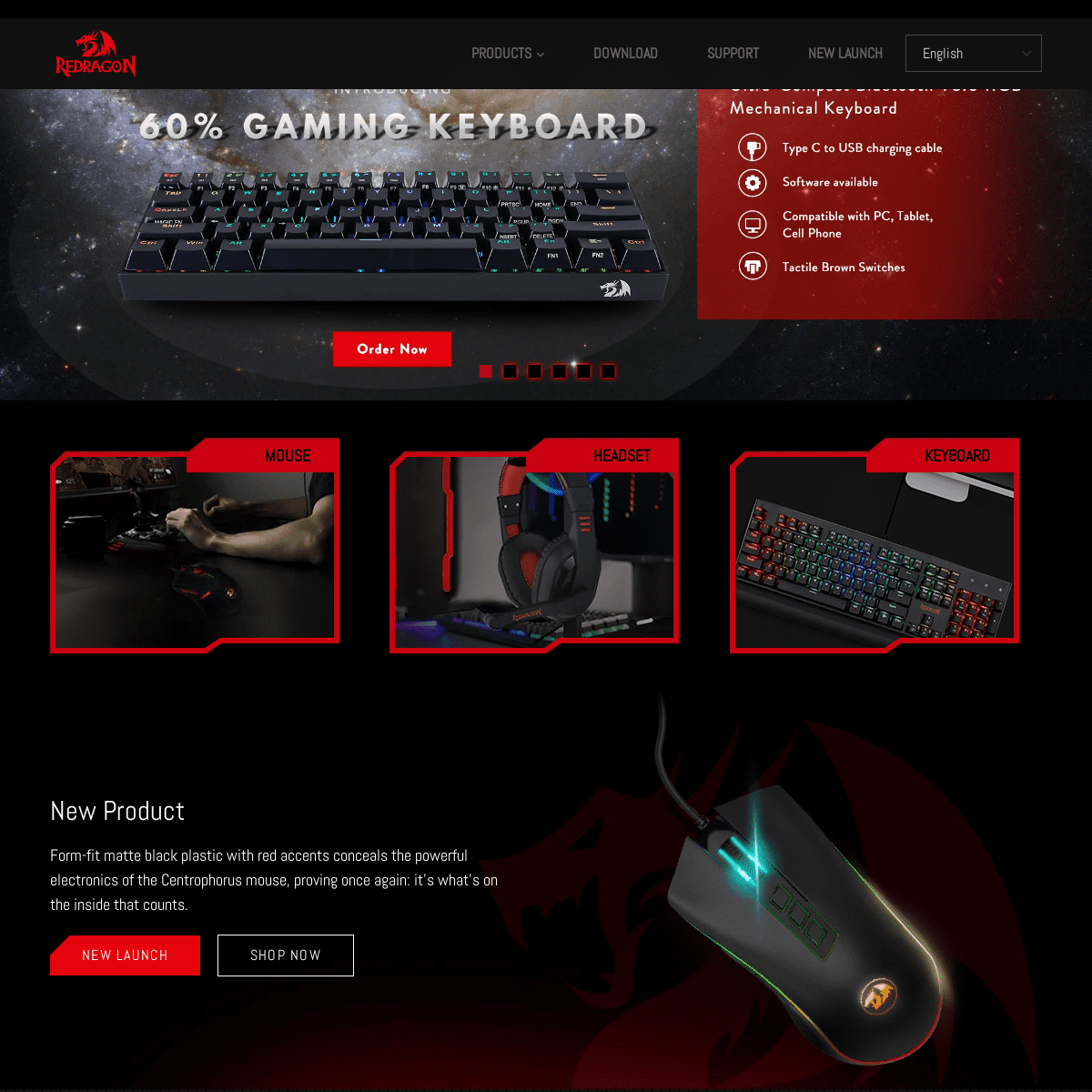 Redragon - Keyboards, Mice, and more - Official Site – REDRAGON ZONE