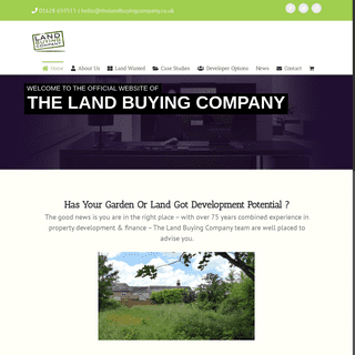 Land Buying Company - Have You Got A Potential Development Site- - The Land Buying Company