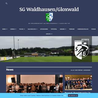 SG Waldhausen-Gloxwald – Die Spielgemeinschaft aus dem Strudengau - 1. Klasse West NÖ