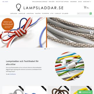 Lampsladdar.se - Textilkabel, elkabel & lamphållare