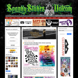 ArchiveBay.com - spankystokes.com - SpankyStokes.com - Designer Toy • Vinyl Toy • Art Toy Blog