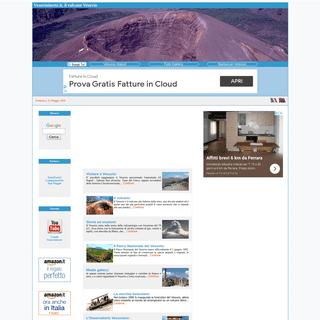 Vesuvio in rete, il vulcano Vesuvio