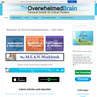 Welcome To The Overwhelmed Brain - Start Here! - The Overwhelmed Brain