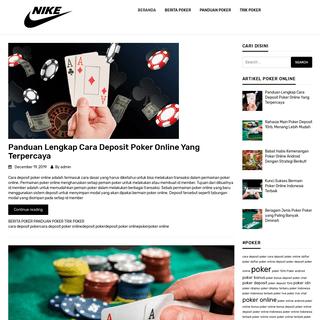 Daftar Terlengkap Situs Poker Online Paling Bagus