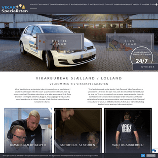 Vikarbureau Sjælland & Lolland - Velkommen til Vikarspecialisten