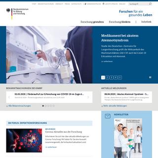 ArchiveBay.com - gesundheitsforschung-bmbf.de - Startseite