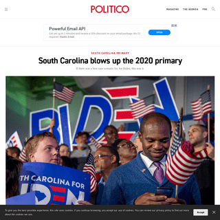 South Carolina blows up the 2020 primary - POLITICO