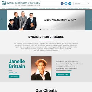 Dynamic Performance - The Performance Excellence Experts