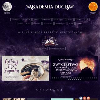 ArchiveBay.com - akademiaducha.pl - Akademia Ducha - Profesjonalne Centrum Rozwoju Duchowego