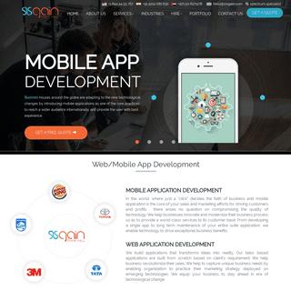 Best Application Development Company - SISGAIN - Top App Development Company in UAE, India, Australia